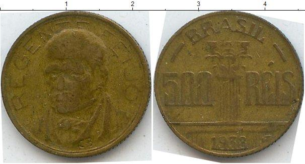 Каталог монет - Бразилия 500 рейс