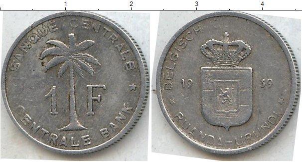 Каталог монет - Бурунди 1 франк