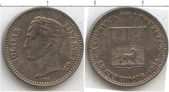 Каталог монет - Венесуэла 25 сентим