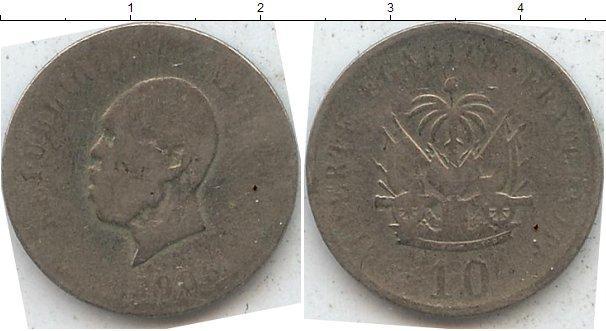 Каталог монет - Гаити 10 гурдов