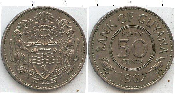Каталог монет - Гайана 50 центов