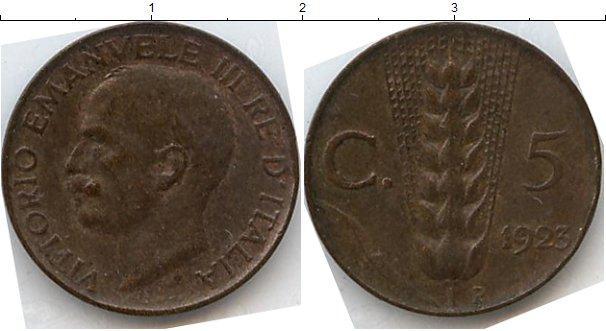 Каталог монет - Италия 5 чентезимо
