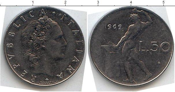 Каталог монет - Италия 50 лир