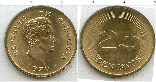 Каталог монет - Колумбия 25 сентаво