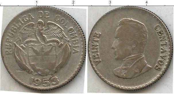 Каталог монет - Колумбия 5 сентаво
