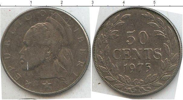 Каталог монет - Либерия 50 центов