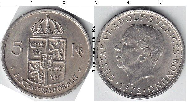 Каталог монет - Швеция 5 крон