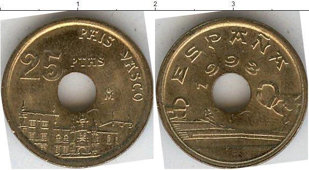 Каталог монет - Испания 25 песет
