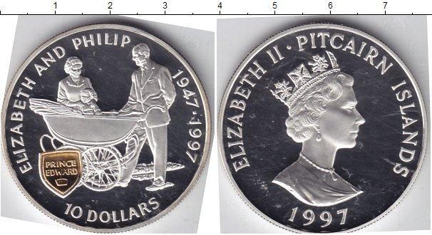 Каталог монет - Острова Питкэрн 10 долларов