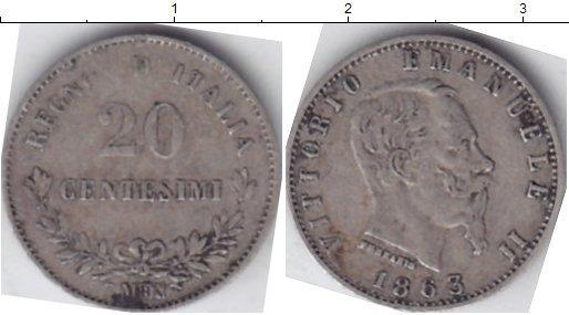 Каталог монет - Италия 20 чентезимо