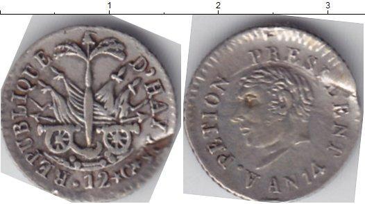 Каталог монет - Гаити 12 сантимов