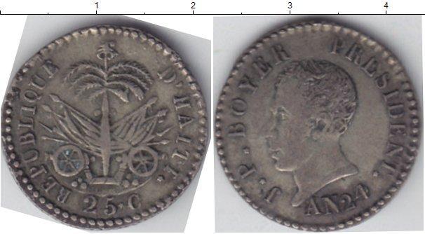Каталог монет - Гаити 25 сантим