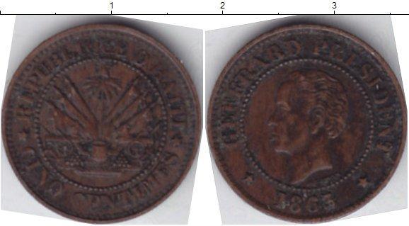 Каталог монет - Гаити 5 сентим