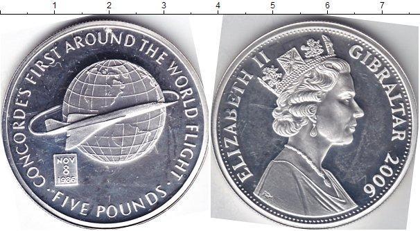Каталог монет - Гибралтар 5 фунтов