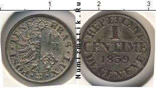 Каталог монет - Швейцария 1 сантим