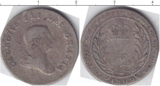 Каталог монет - Эссекуибо и Демерара 1/2 гуильдера
