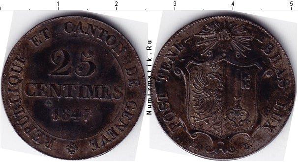 Каталог монет - Швейцария 25 сантим