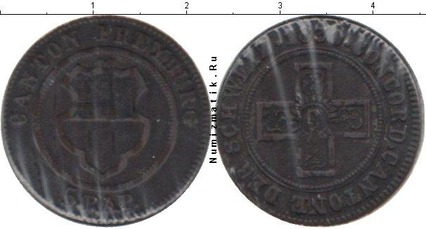 Каталог монет - Швейцария 5 рапп