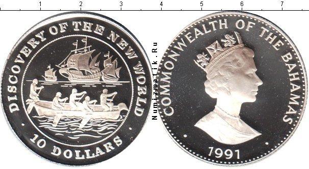 Каталог монет - Багамские острова 10 долларов