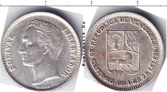 Каталог монет - Венесуэла 50 сентим