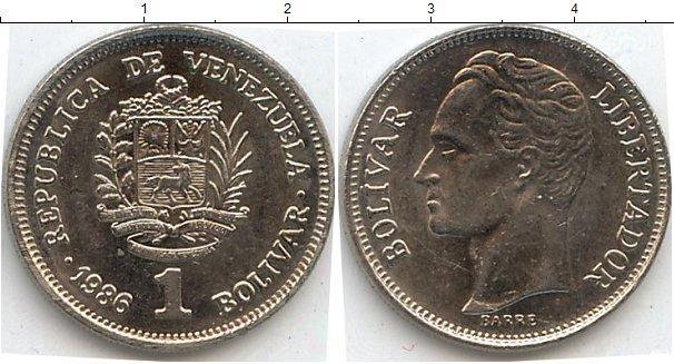 Каталог монет - Венесуэла 1 боливар