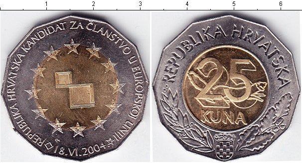 Каталог монет - Хорватия 25 кун