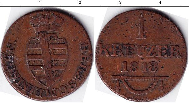 Каталог монет - Саксен-Майнинген 1 крейцер