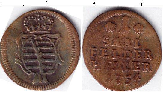 Каталог монет - Саксе-Кобург-Саалфельд 1 хеллер