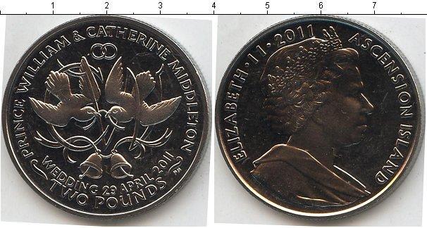 Каталог монет - Аскенсион 2 фунта