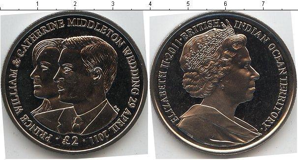 Каталог монет - Британско - Индийские океанские территории 2 фунта