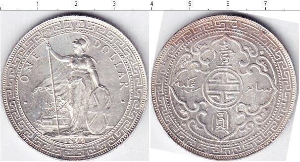 Каталог монет - Великобритания 1 доллар
