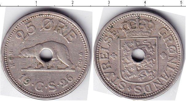 Каталог монет - Гренландия 25 эре