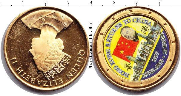 Каталог монет - Великобритания 25 евро