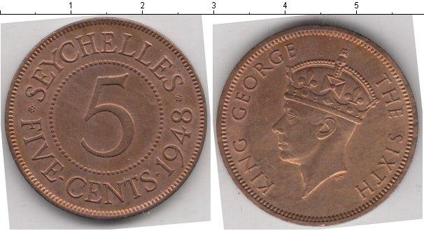 Каталог монет - Сейшелы 5 центов