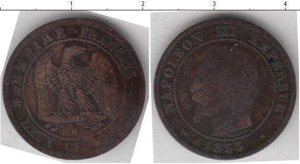Каталог монет - Франция 2 сантима
