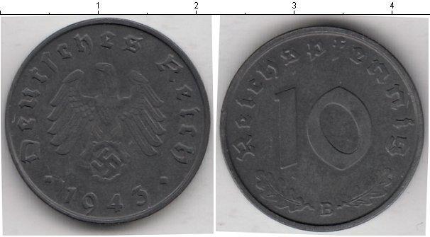 Каталог монет - Третий Рейх 10 пфеннигов