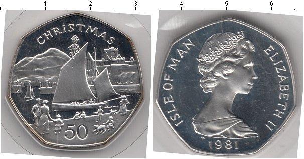 Каталог монет - Остров Мэн 50