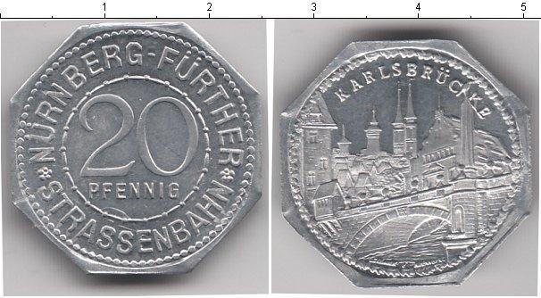 Каталог монет - Нюрнберг 20 пфеннигов