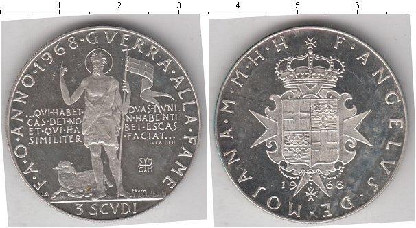 Каталог монет - Мальтийский орден 3 скуди