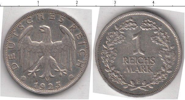 Каталог монет - Германия 1 марка