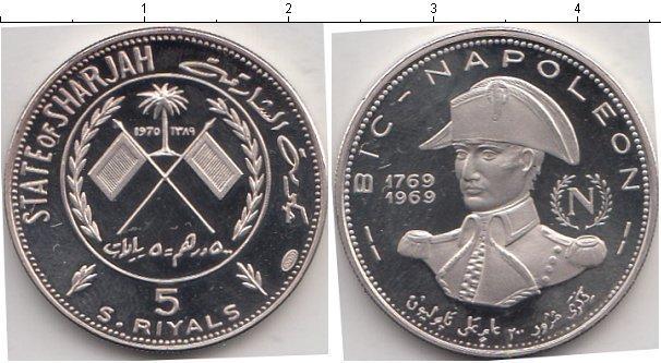 Каталог монет - Аджман 5 риалов