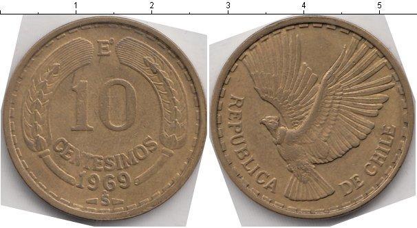 Каталог монет - Чили 10 сентаво