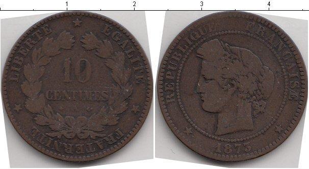 Каталог монет - Франция 10 сантим