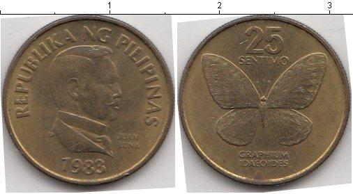 Каталог монет - Филиппины 25 сентаво