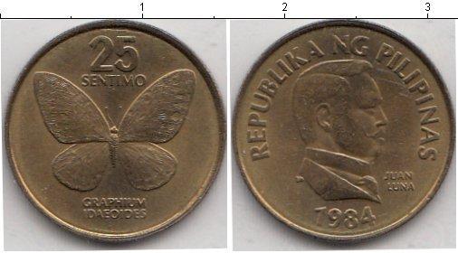 Каталог монет - Филиппины 25 сентим