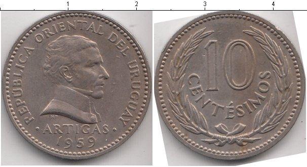 Каталог монет - Уругвай 10 сентесим