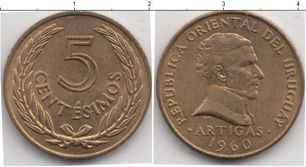 Каталог монет - Уругвай 50 сентесим