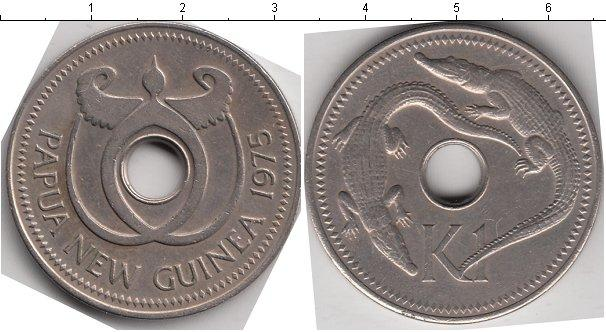 Каталог монет - Папуа-Новая Гвинея 1 кина