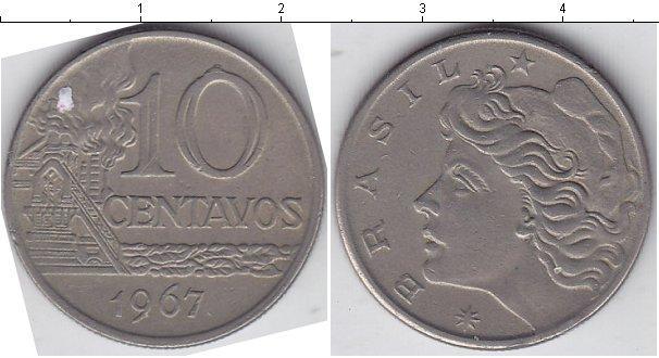 Каталог монет - Бразилия 10 сентаво