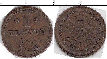 Каталог монет - Эрфурт 1 пфенниг